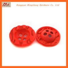 metal zina alloy 4 holes sewing button,good quality garment accessory