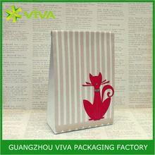 High grade paper velvet pouch gift bags