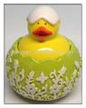 De cerámica de pato, de cerámica de pascua decoración de pato