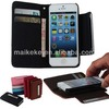 detachable wallet leather case for iphone 5/ 5s for iphone 6