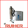 solar powered submersible water pump, dc solar pump system for home use