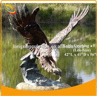 Brass Eagle Sculptures Metal Eagle Sculpture Bronze Animal Sculpture