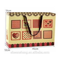Hot sale decorative reusable shopping bag