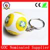 LOW MOQ Brazil 2014 souvenirs football world cup keychain/one piece key chain (HH-key chain-951)