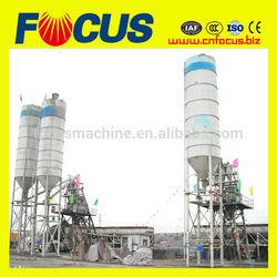 HZS50 meka concrete batching plant/stationery concrete batching plant