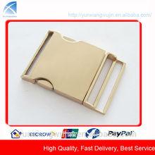 CD8575 Fashion Gold Metal Suspender Adjuster Buckle for Garment