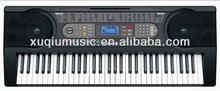 Black 61K Electronic Keyboard Organ