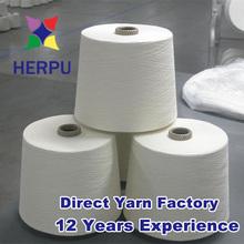 Ne40/1 PP woven bag packing polyester yarn