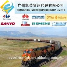 Railway wagon 40HC shipping from China to Kazakhstan