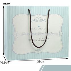2014 3d santa claus paper gift bags craft paper bag gift paper bags