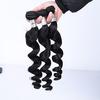 4inch human hair weave extensions 27 piece purple human hair weave