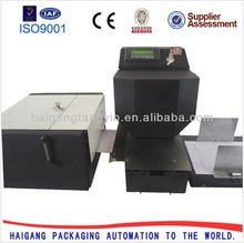 hydraumatic hologram brand logo heat printing machine anti-fake documents bill A4paper