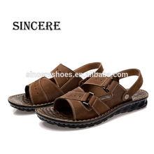 Men's Summer Genuine Leather High Class Export Beach Sandal