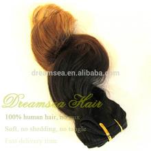 #1B#4#27 Brazilian Hair 3 Tone Ombre Bundles Hair Weaves