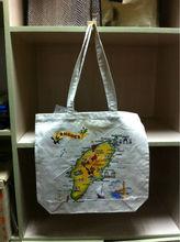 2015 Green Fashion eco bag cotton tote bag