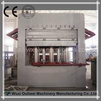 Multilayer to polish wood floor press machine