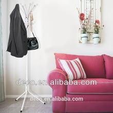 Morden design black/white finish metal coat rack cheap furniture