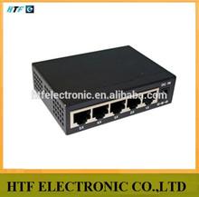 high speed 5p 10/100/1000M unmanaged gigabit networks tap sfp fiber Switch