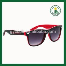 rosso sexy delle donne pieno cerchio telaio eyeware occhiali di plastica