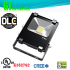 Top quality IP65 UL cUL(UL NO.E352762) DLC solar flood light with timer