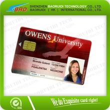 Factory price emv chip card id card