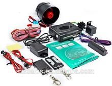 2014 DLS HIgh quality Factory price one way car alarm system pke car alarm