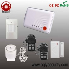 DIY china quality alarm control system for home self defense siren home alarm with Android & IOS app