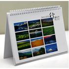 die cut 2013 design desk calendar/guangzhou electronic calendar