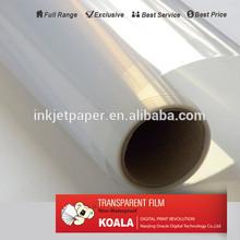 high resolution transparent inkjet PET film