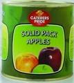 de alta calidad de conservas sólido paquete de manzana fabricante