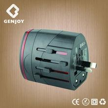 GENJOY multi plug car universal world industrial wall travel charger