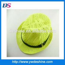 wholesale korean style children knit fedora hat pattern MZ1025