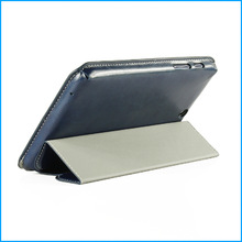 """Stand leather flip case for lenovo A3500 7""""-Dark Blue"""
