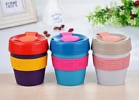 Imprint silicone wrap brand wholesale China thermal coffee mug