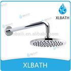 "XLBATH 2014 New CiXi NingBo Round ABS plastic Chromed 8"" spa ceiling shower jet"