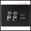 AXIAL EXO 1/10 4WD TERRA BUGGY Aluminum 14x9MM locking hex coupler 4pcs set