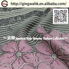 Japanese High Quality Velvet Wholesale Polyester Waterproof Designer Fabric World Time Slip Black Kimono Furniture Fabric