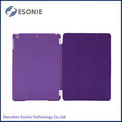 2014 hot sell for ipad air smart cover case leather case for ipad