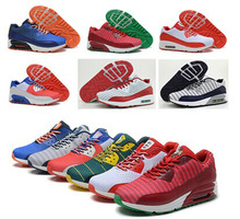 Latest arrival air sneakers max men running shoes 90 styles 2014 world cup sports shoes