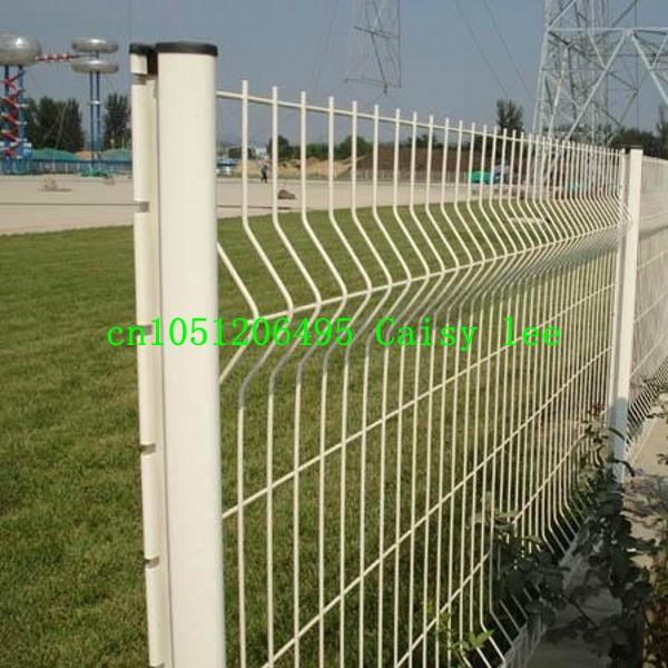 Clôture de jardin en plastique / fer clôture, Pvc enduit ...