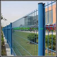 portable dog fence /iron fence,pvc coated wire mesh fence,garden fence