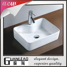 GT-401C one faucet hole bathroom lavabo Washbasin ceramic table top basin