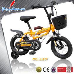 yellow kids' bike export to Europe and America China supplier kids' bike