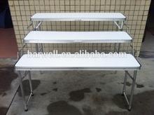 aluminum folding display camping table