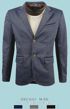 Glo-story custom made elbow patch fancy blazer
