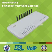 VoIP Terminal GoIP GSM Gateway,goip 8 gsm,GoIP-8