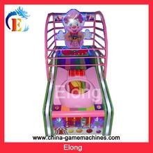 2014 Children Basketball Amuement arcade game machine, Clown children basketball game