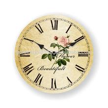 Unique design western style wall clock