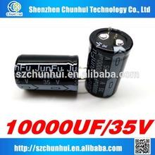 Japan Junfu for snap electrolytic capacitor 10000UF 35V 25 *41 MM