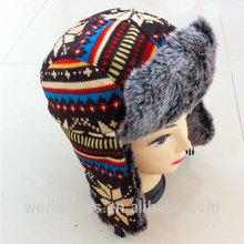 HC-016 High Quality Lei Feng Hats Children Artificial Fur Hats